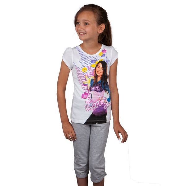 iCarly - Carly Kisses Girls Juvy Capri Set