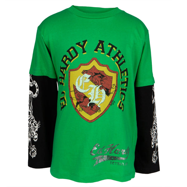 Ed Hardy Bulldog Thug Youth T-Shirt