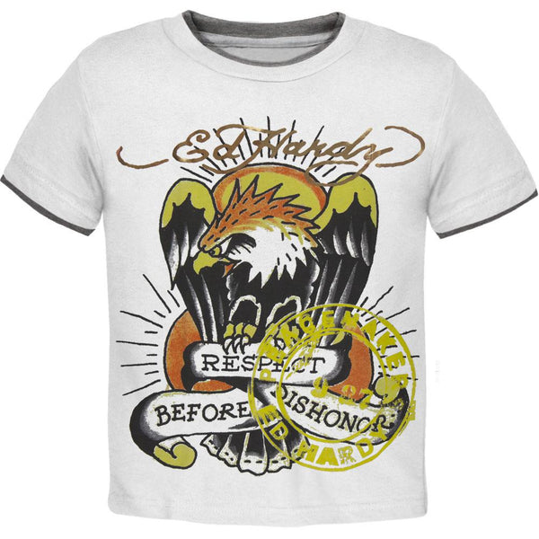 Ed Hardy - Eagle Respect Before Dishonor Juvy T-Shirt