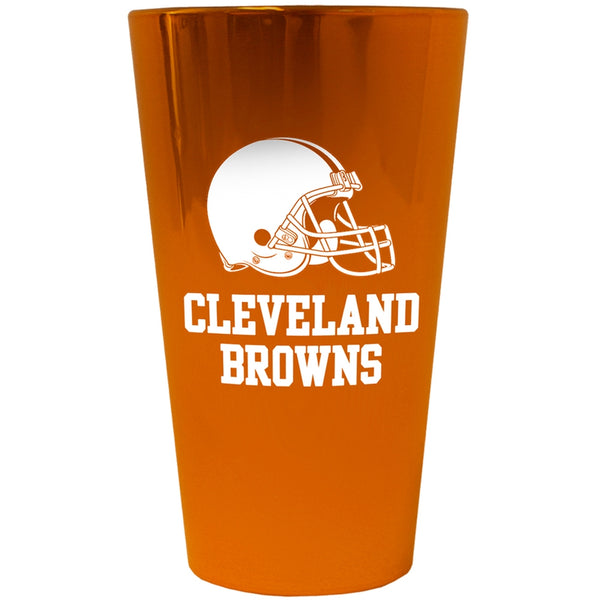 Cleveland Browns - Logo Lusterware Pint Glass