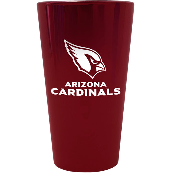Arizona Cardinals - Logo Lusterware Pint Glass
