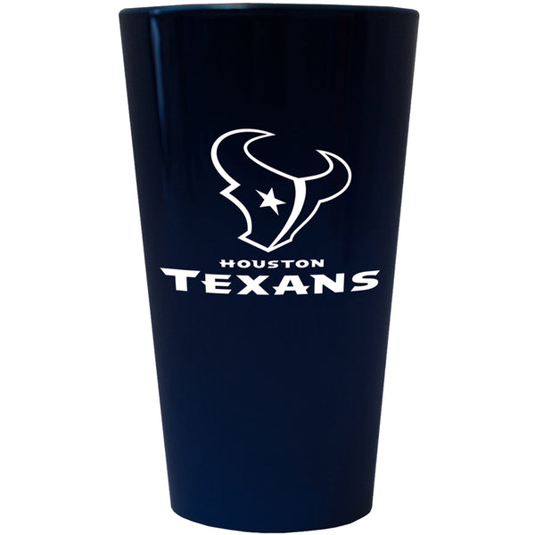 Houston Texans - Logo Lusterware Pint Glass