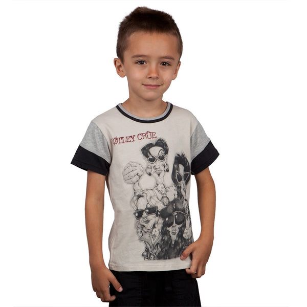 Motley Crue - Greatest Hits Characterture Youth Premium T-Shirt