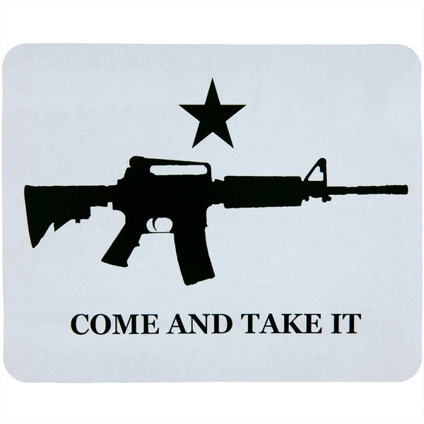 M4 Come And Take It Fleece Blanket
