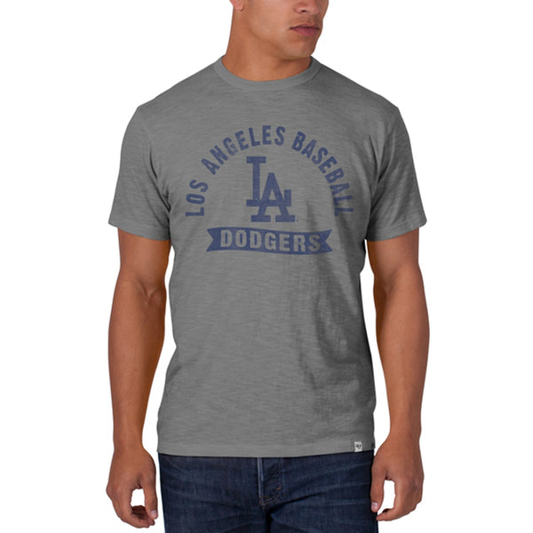 Los Angeles Dodgers - Banner Logo Scrum Premium T-Shirt