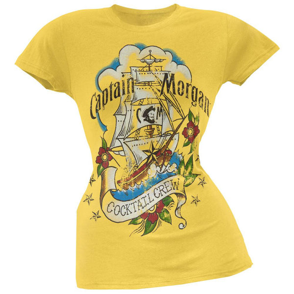 Captain Morgan - Cocktail Crew Juniors T-Shirt