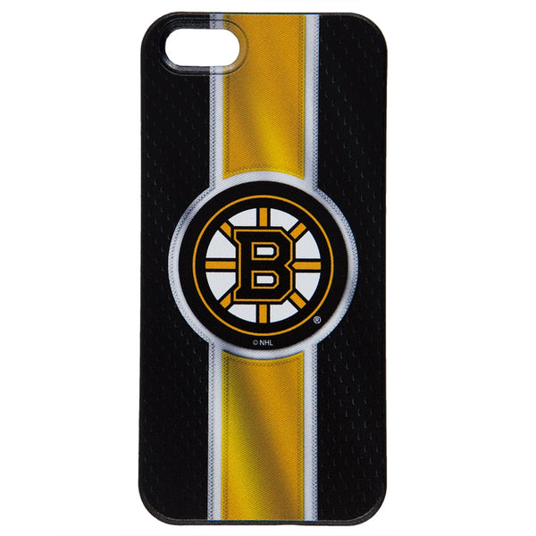 Boston Bruins - Logo Jersey Stripe iPhone 5/5S Thinshield Snap-On Case