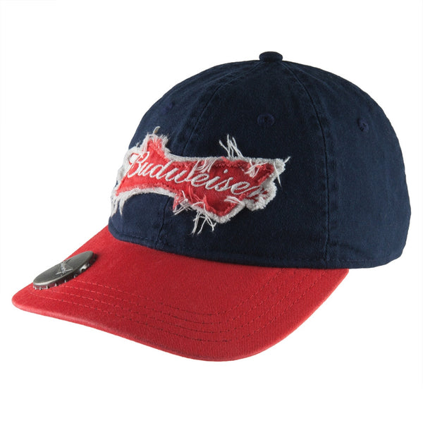 Budweiser - Bowtie Logo Bottle Opener Adjustable Baseball Cap