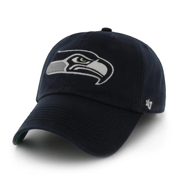 Seattle Seahawks - Logo Franchise Fitted Baseball Cap