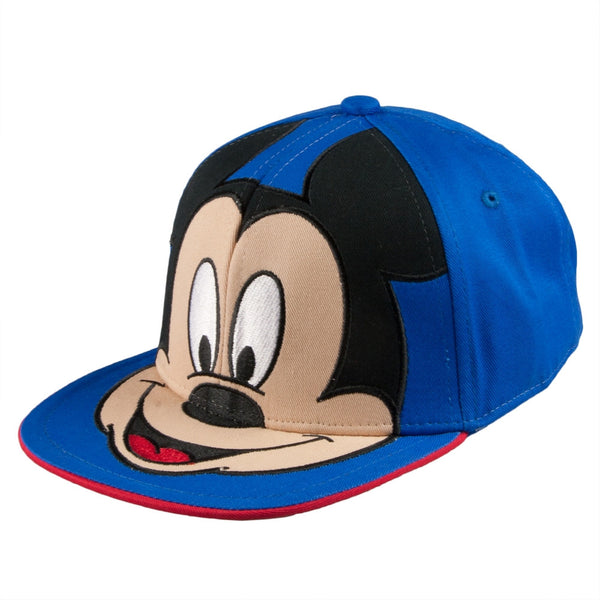 Mickey Mouse - Big Head Youth Adjustable Baseball Cap