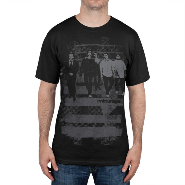 Entourage - Black Group Portrait T-Shirt