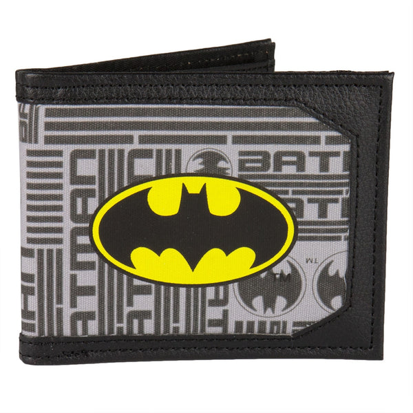 Batman - Logo Canvas Bi-Fold Wallet
