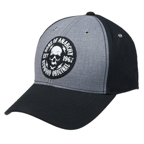 Sons of Anarchy - Est 1967 Skull Fitted Baseball Cap