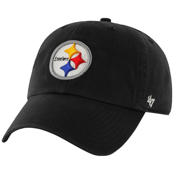 Pittsburgh Steelers - Clean Up Logo Kids Adjustable Cap