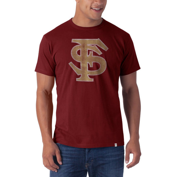 Florida State Seminoles - Flanker Red Premium T-Shirt