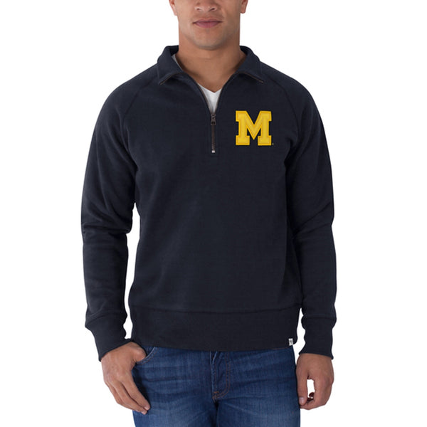 Michigan Wolverines - Cross-Check Premium Pullover Sweatshirt