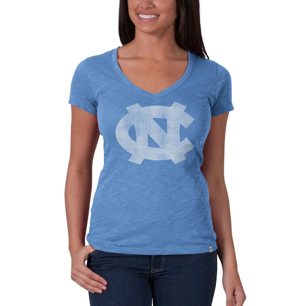North Carolina Tar Heels - Scrum Premium V-Neck Juniors T-Shirt
