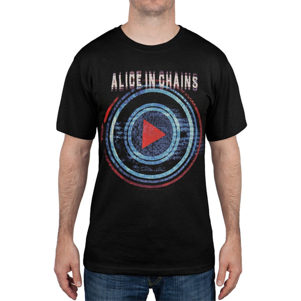 Alice In Chains - Play Button Miami to Montreal Tour T-Shirt