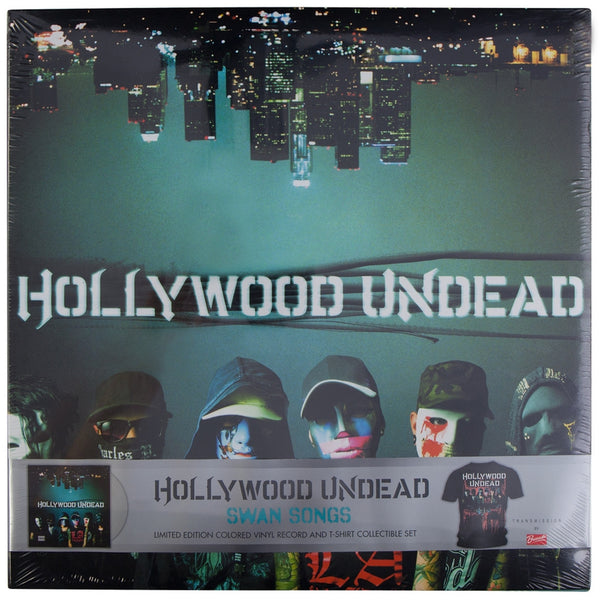 Hollywood Undead - Swan Songs Vinyl Record/T-Shirt Gift Set