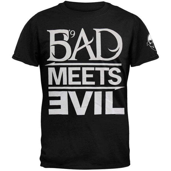 Bad Meets Evil - Lollapalooza 2011 Soft T-Shirt