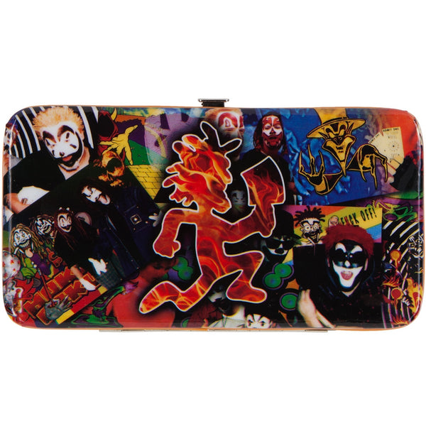 Insane Clown Posse - Collage Metal Hinge Wallet