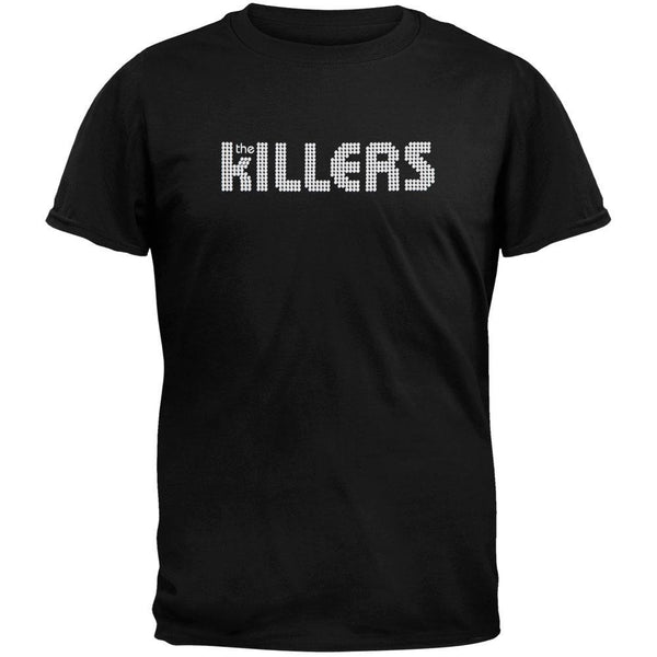 The Killers - White Logo Soft T-Shirt