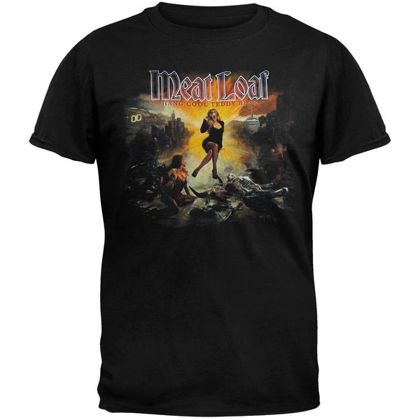 Meat Loaf - Hang Cool Teddy Bear Cover 2010 Tour T-Shirt