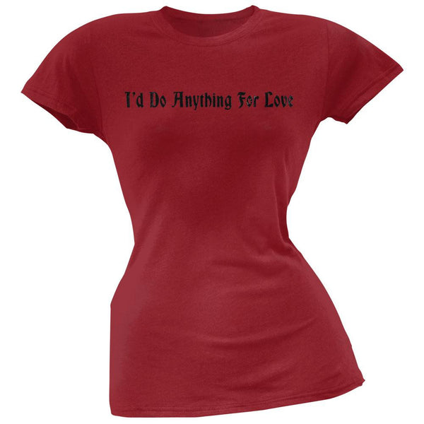 Meat Loaf - I'd Do Anything For Love Juniors T-Shirt
