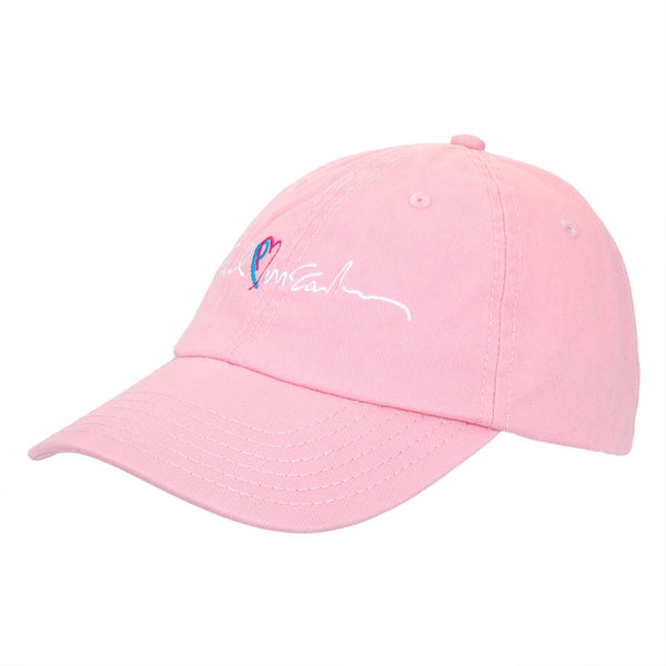 Paul Mccartney - Hearts Light Pink Adjustable Baseball Cap
