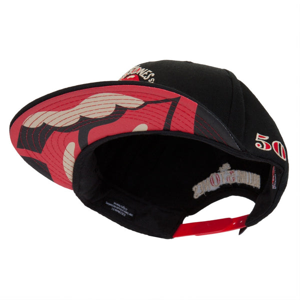 Rolling Stones - Classic Tongue 50th Anniversary Tour Adjustable Baseball Cap