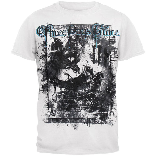 Three Days Grace - Destroyed 2011 Tour T-Shirt