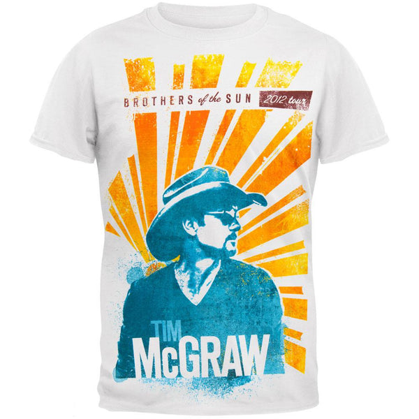 Tim Mcgraw - Sun Rays 2012 Tour T-Shirt