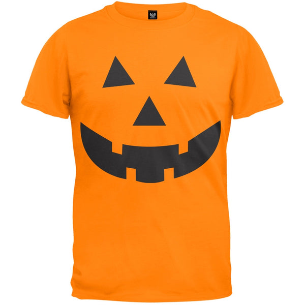 Halloween Jack-O-Lantern Face Youth T-Shirt