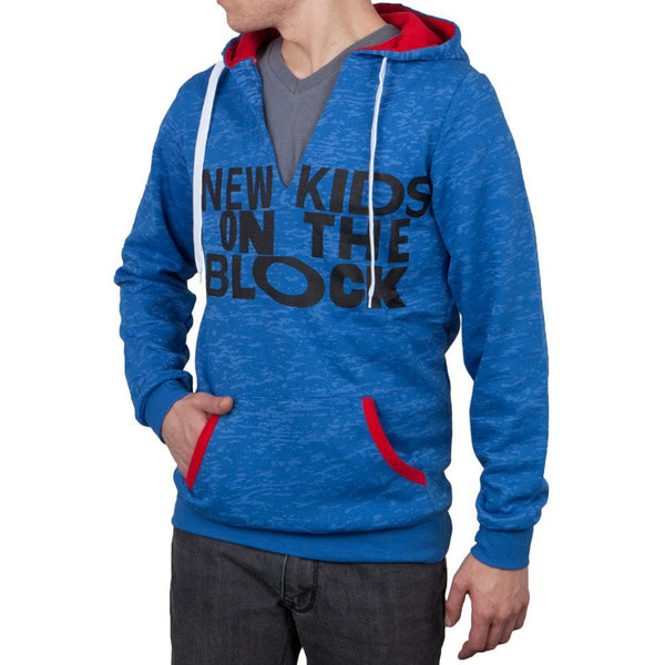 New Kids On The Block - Blue V-Neck Fashion Hoodie