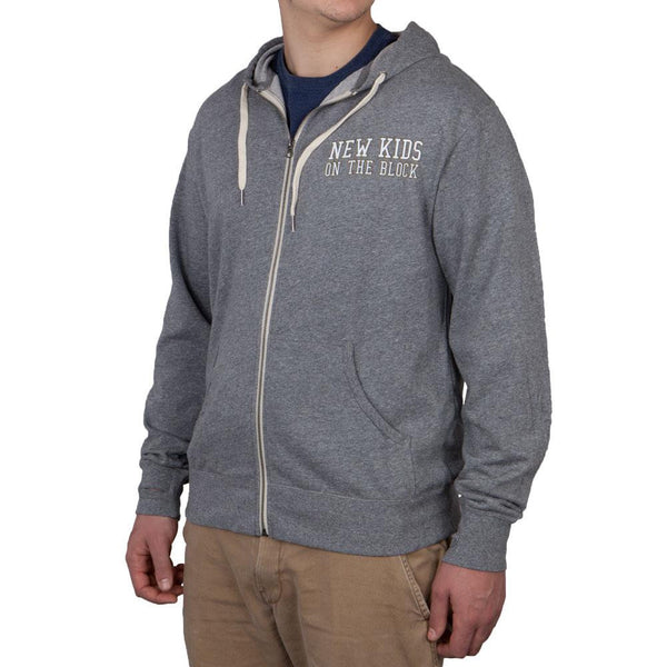New Kids On The Block - Grey Fashion Hoodie