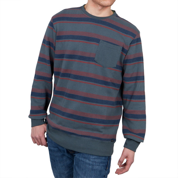 O'Neill - Bixby Striped Grey Sweatshirt