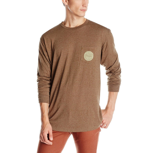 O'Neill - Clam Bake Dark Brown Adult Long Sleeve Shirt