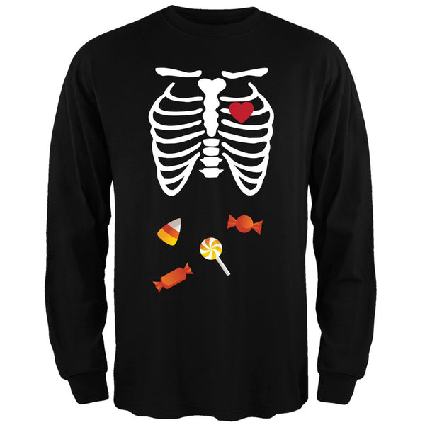Halloween Candy Baby Skeleton Long Sleeve T-Shirt