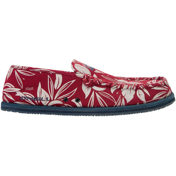 O'Neill - Surf Turkey Maroon Low Top Slipper Shoes