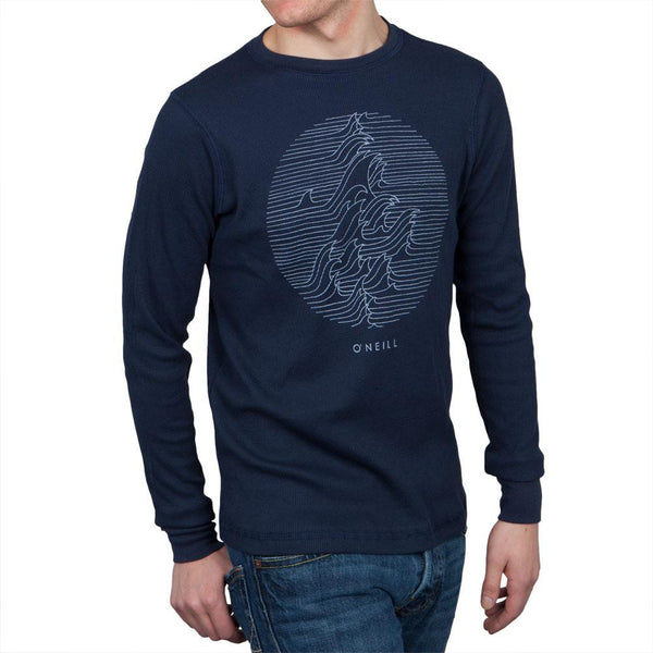 O'Neill - Collide Graphic Navy Thermal Long Sleeve Shirt