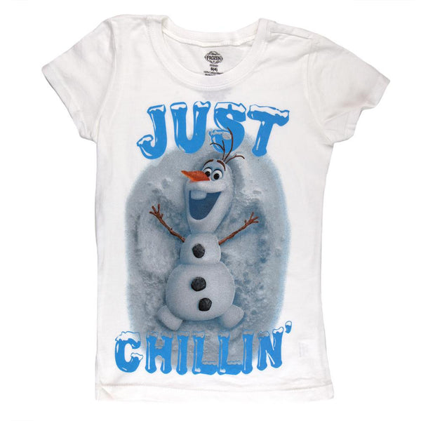 Frozen - Just Chillin Girls Juvy T-Shirt