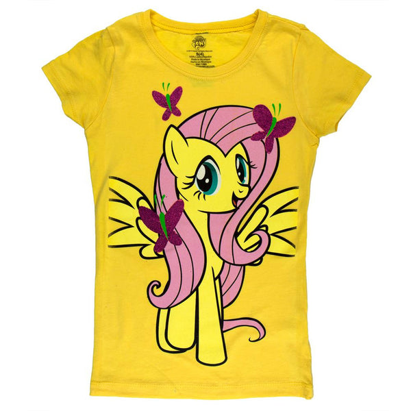 My Little Pony - Fluttershy Pose Girls Juvy T-Shirt