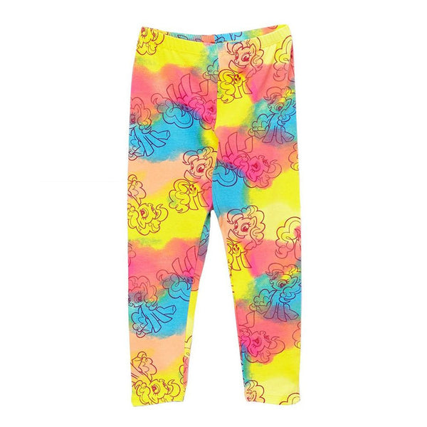 My Little Pony - All-Over Tie Dye Outlines Girls Juvy Leggings