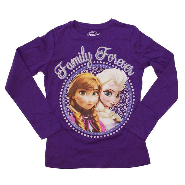 Frozen - Family Forever Girls Juvy Long Sleeve T-Shirt