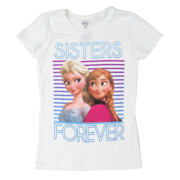 Frozen - Sisters Forever Girls Youth T-Shirt