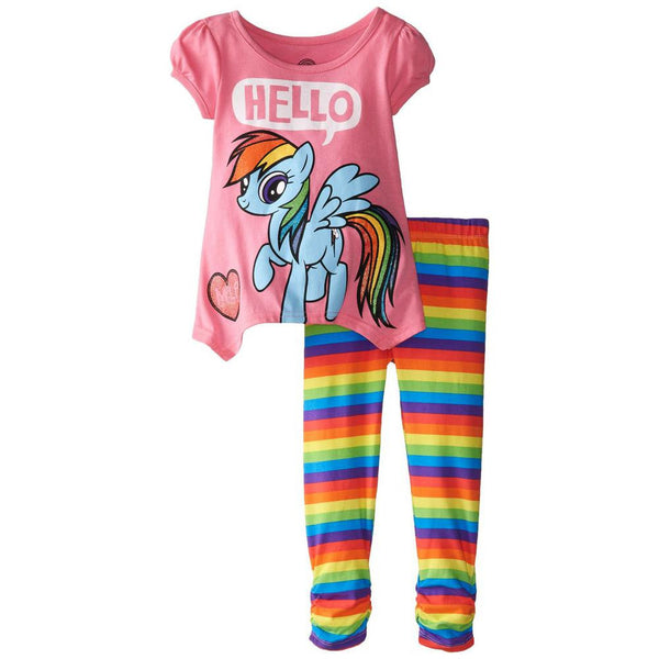 My Little Pony - Hello Goodbye Toddler Tunic Top and Leggings Set