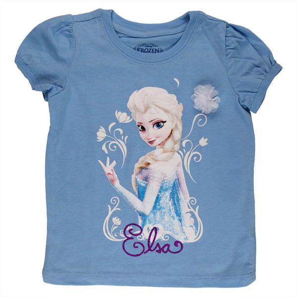 Frozen - Elsa Flowers Toddler Puff T-Shirt
