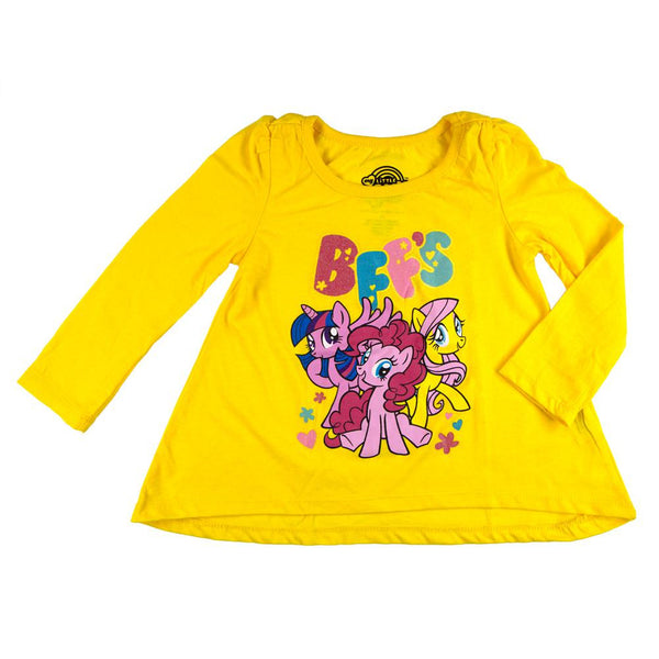 My Little Pony - Bffs Toddler Puffy Long Sleeve T-Shirt