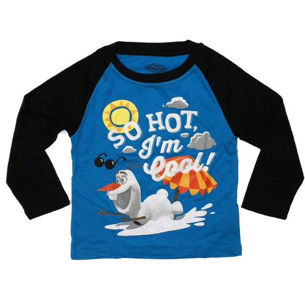 Frozen - So Hot I'm Cool Toddler Long Sleeve T-Shirt