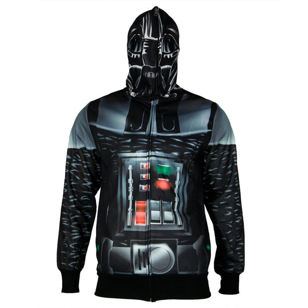 Star Wars - Vader is Here All Over Costume Zip Hoodie
